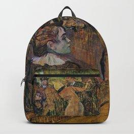"""Henri de Toulouse-Lautrec """"Ball at the Moulin de la Galette"""" Backpack"""