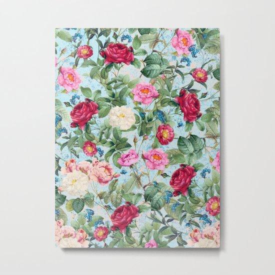 Roses garden II Metal Print