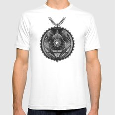 Spirobling VI MEDIUM Mens Fitted Tee White