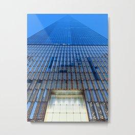 World Trade Sunset Metal Print