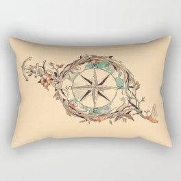 Bon Voyage Rectangular Pillow