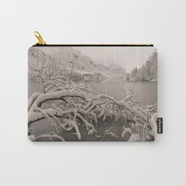 Frozen Lake Bohinj Carry-All Pouch
