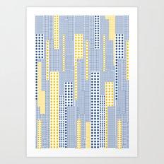 Geo Pattern 06 Art Print
