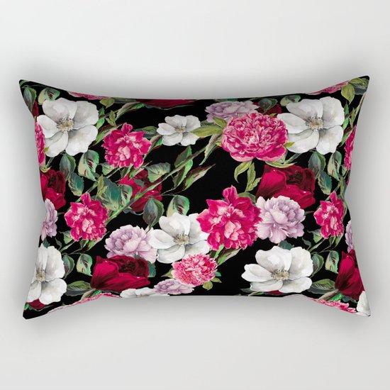 Exclusive Floral Pattern Rectangular Pillow