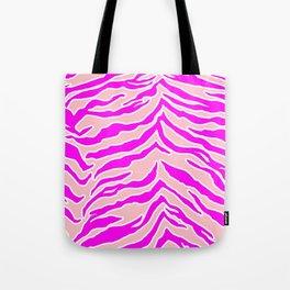 Tiger Print - Pink & Pink Tote Bag