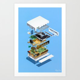 Assembly Required 2 Art Print
