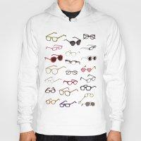 glasses Hoodies featuring glasses by Janaína Esmeraldo