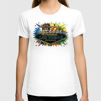 las vegas T-shirts featuring Welcome to Las Vegas by Gary Grayson