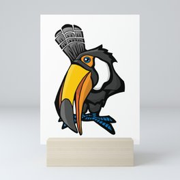 Smiling Toucan | Animal Series | DopeyArt Mini Art Print