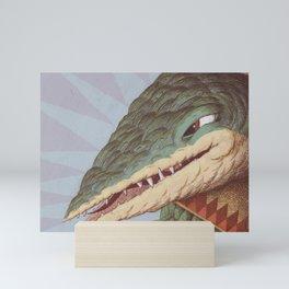Croc Surprise Mini Art Print