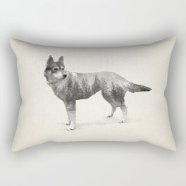 Ghost Dog - Coco Rectangular Pillow