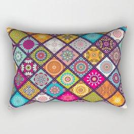 bohemian pattern Rectangular Pillow