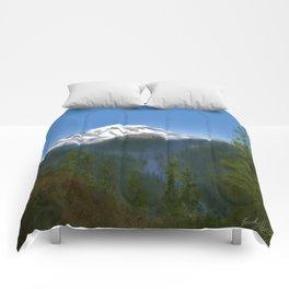 Mt Rainier Comforters