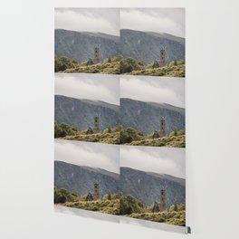 Glendalough Mountain Monastery Wallpaper