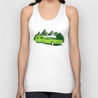 camping Tank Tops featuring Camping trip by Grilldress