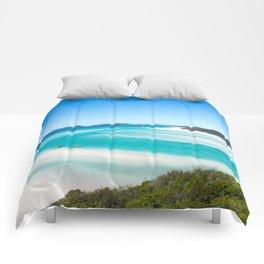 Whitehaven Beach Comforters