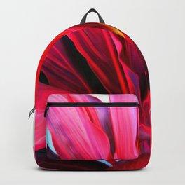 Red Ti Leaf Backpack
