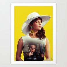 Gaby Art Print