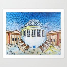 British Museum Art Print