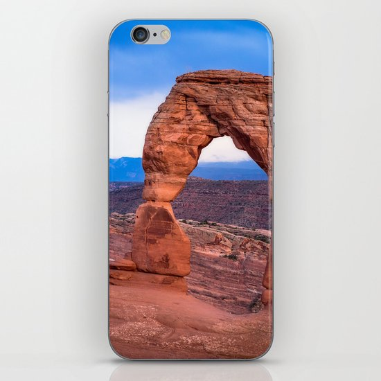 Delicate - Delicate Arch Glows on Rainy Day in Utah Desert by seanramsey