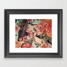 Steal Blossom Framed Art Print