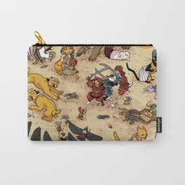CAT VS MICE Carry-All Pouch