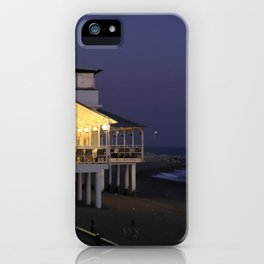 Varazze by night iPhone Case
