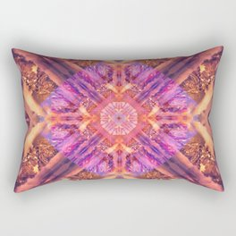 Temple of the Sky God Mandala Rectangular Pillow
