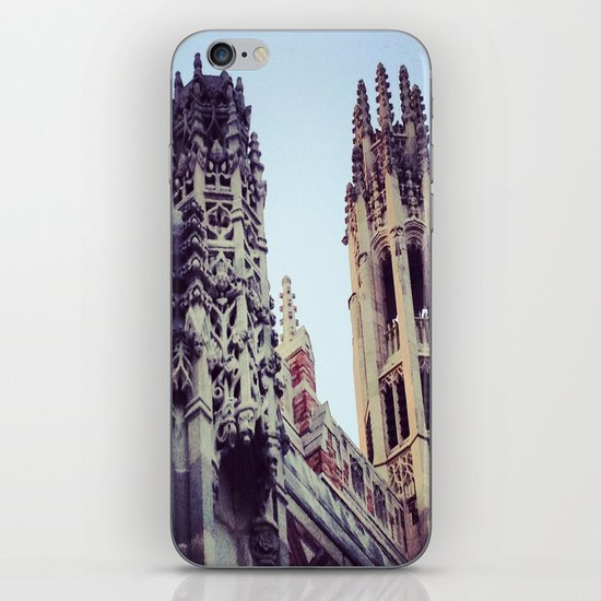 Towers (Yale, CT) iPhone & iPod Skin