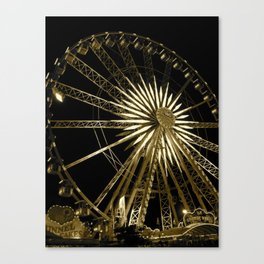 The Fair-Ferris Wheel Canvas Print