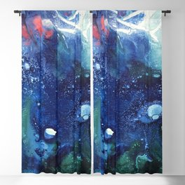 Bright Ocean Life, Tiny World Collection Blackout Curtain
