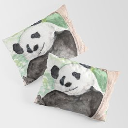 Panda, Hanging Out Pillow Sham