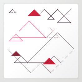 Tree-Angle Art Print