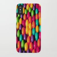 gumball iPhone & iPod Cases featuring Rainbow Candy: Gumballs by Whimsy Romance & Fun