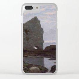 Claude Monet - Etretat - Étretat - The Cliff - 1864 Clear iPhone Case