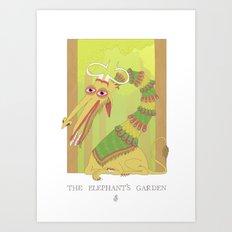 The Elephant's Garden - The Perpetual Glibb Art Print