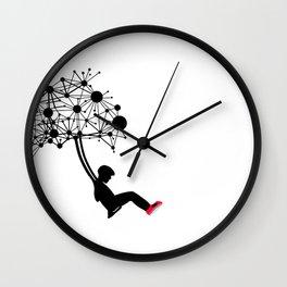 the Swingset Wall Clock