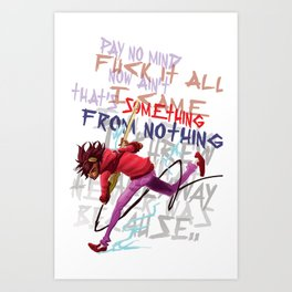 You are my fuse Art Print