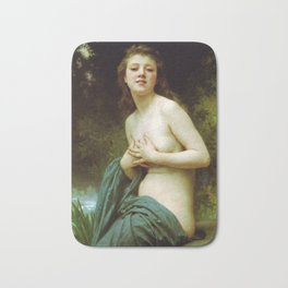 Adolphe William Bouguereau  -  La Brie Du Printemps Bath Mat