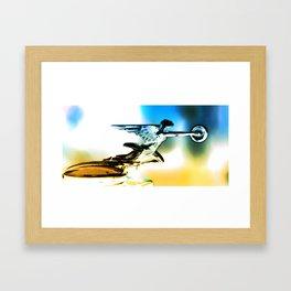Flyer Framed Art Print