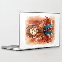 sam smith Laptop & iPad Skins featuring sam by cynamon