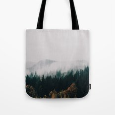 Forest Fog Tote Bag
