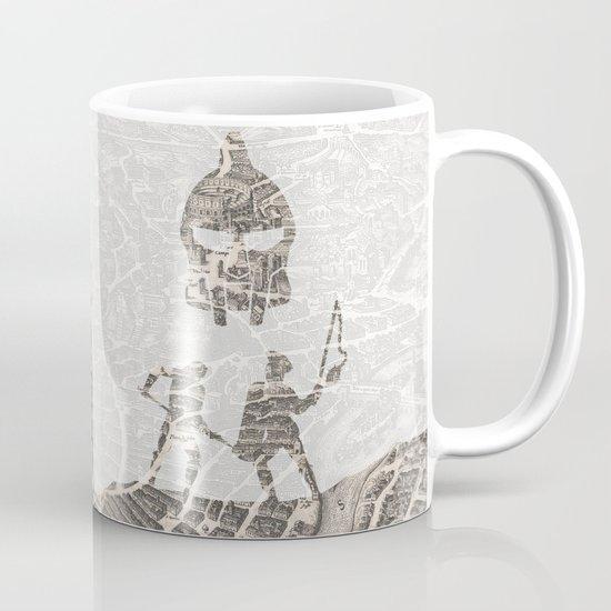 Rome of Gladiators - vintage map Mug