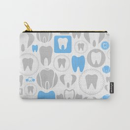 Tooth a background Carry-All Pouch