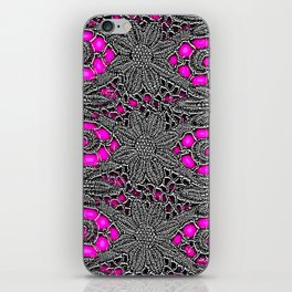 Electro Lace iPhone Skin