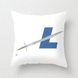 LTC SWORD Throw Pillow