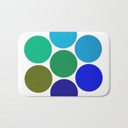 Cool Science Circles Bath Mat