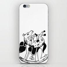 Backwards+Topsy turvy iPhone & iPod Skin