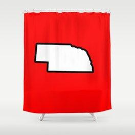 Nebraska Shower Curtain