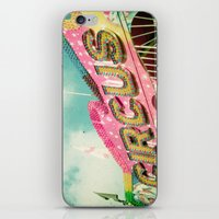 circus iPhone & iPod Skins featuring Circus by Cassia Beck